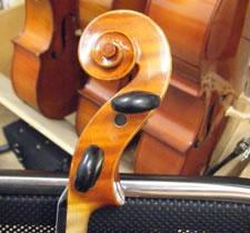 小提琴弦轴角度位置