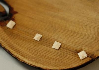 提琴面板裂缝的处理方法