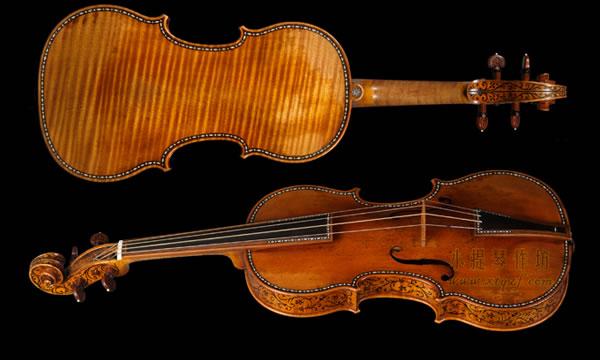 安东尼奥·斯特拉迪瓦里 1683 小提琴 制作图纸