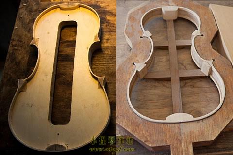 制作提琴选用内模具还是外模具