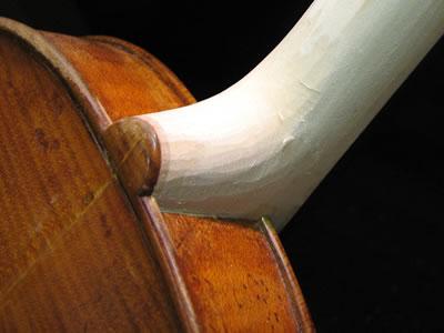 在老琴上重新安装琴颈