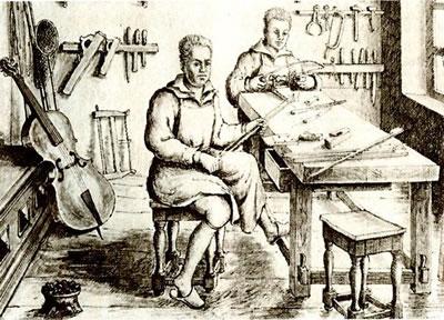 古典琴弓制作