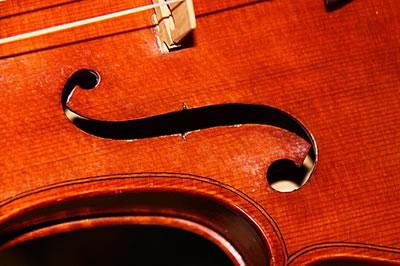 小提琴的镶线风格及材料