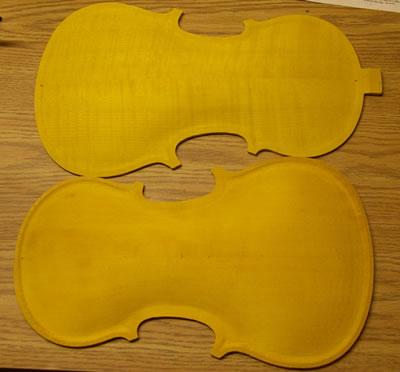 提琴琴板弧度对声学品质的影响