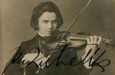扬·库贝利克使用过的斯式名琴