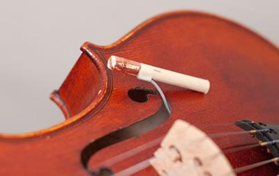 松开琴弦小提琴音柱倒了是怎么回事