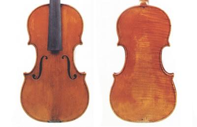 瓜达尼尼 1776年 小提琴制作图纸