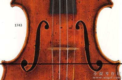 小提琴F孔的基本概念与细节认识