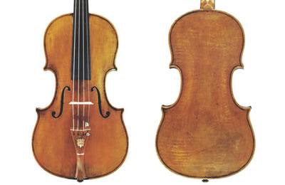 斯特拉迪瓦里 1734年 中提琴『Gibson』制作图纸