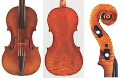 雅各布·施泰纳 1679年 小提琴制作图纸