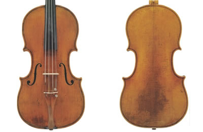 乔凡尼·格兰奇诺 1712年 中提琴制作图纸