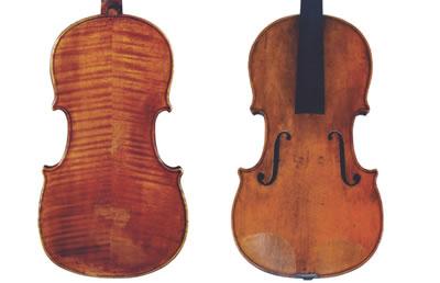 G.B.瓜达尼尼 1784『Leyds』中提琴图纸