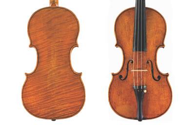 亚历山达罗‧加里亚诺 1700『ROTONDO』小提琴图纸