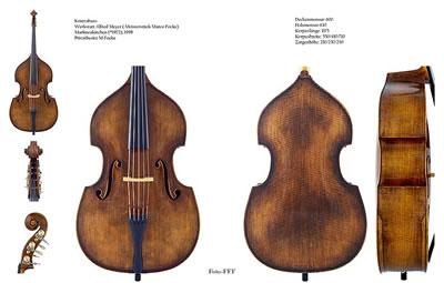 低音大提琴(贝斯)乐器界的庞然大物