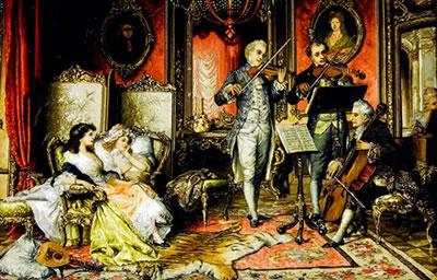 小提琴的制作与演奏历史是分不开的
