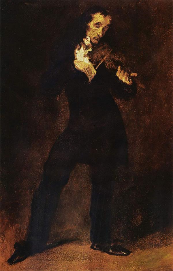 帕格尼尼肖像