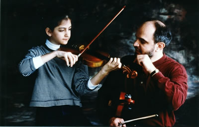 选择第一任小提琴教师的重要性