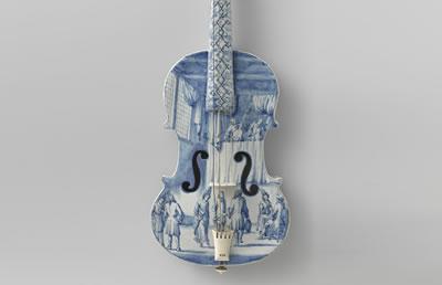 蓝瓷提琴青花瓷的传奇历史