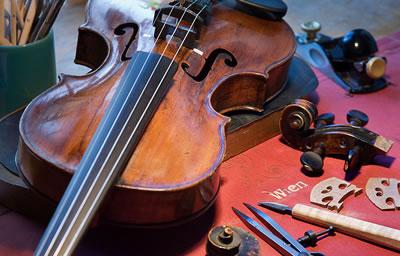关于提琴修琴的观念