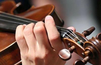 小提琴揉弦