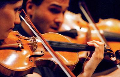 小提琴颤音演奏曲中的装饰音之一