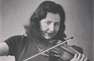 奥斯威辛集中营的女小提琴家阿尔玛‧罗斯