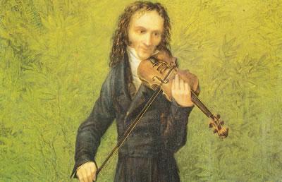 帕格尼尼小提琴作品中的情感特征分析