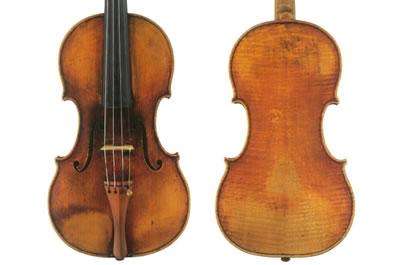帕格尼尼小提琴 瓜奈利 1743 小提琴『Il Cannone』