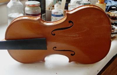 提琴油漆的配制