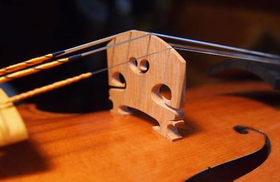提琴琴码的传递作用