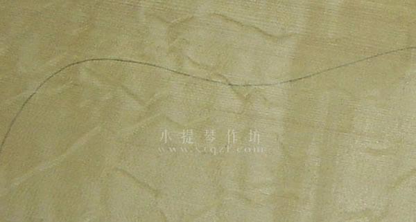 鸡爪紋面板