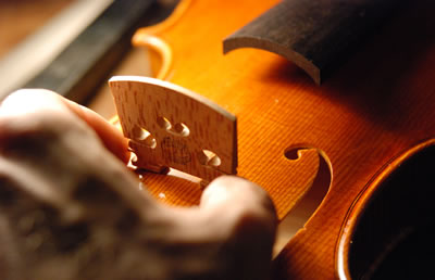 小提琴琴马的一些安装原则