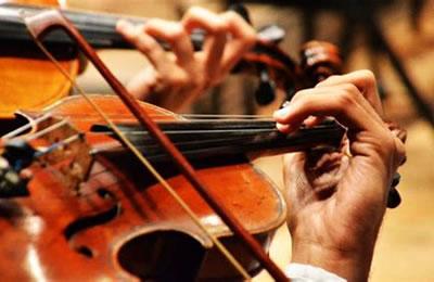 谈谈小提琴左手按弦