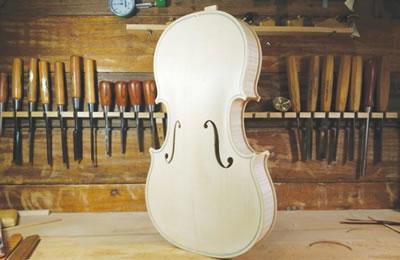 工艺结构对小提琴音质的影响